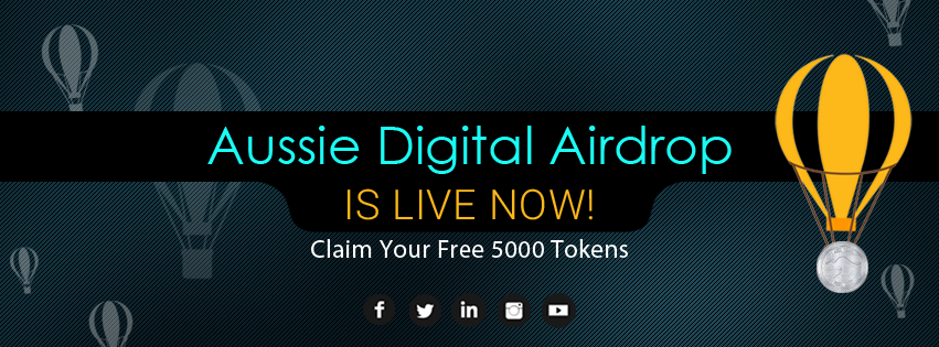 Earn Free 5000 Tokens with Aussie Digital Airdrop